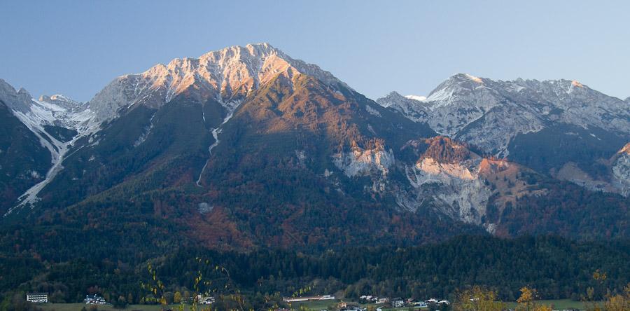 Abendstimmung in Innsbruck