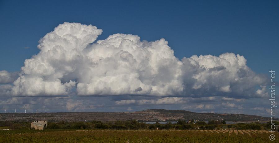 Heute waren Wolken besonders interessant..