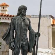 Guance Statue in Santiago del Teide