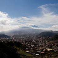 Blick über San Cristobal de Tenerife