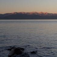 Abendjause am Lago Huapi
