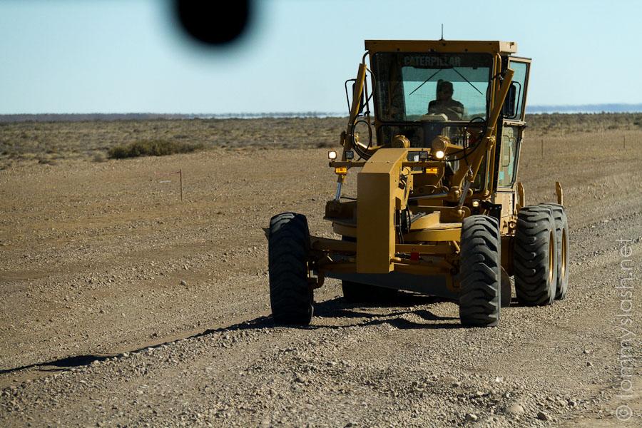 Wartungsarbeiten an der Ruta 40