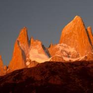 1.1.2012 Morgenstund hat Gold im Mund, endlich bekomme ich mal die Berge zu sehen