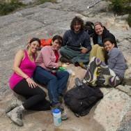 was für ein Tag: Dennis, Mariella, Augustina und Ingrid