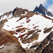 vorne links: Cerro Matzen, dahinter Cerro Electrico