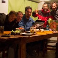 Facundo, Clemens, Carlos, Paulo und ich