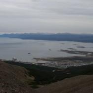 Blick von der 'Gletschertour' auf den Beagle Kanal