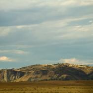 auf der Fahrt nach Puerto Natales