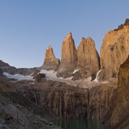 Torres del Paine kurz vor 6