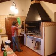 so ein Grillkamin gehört eigentlich in jede Küche..